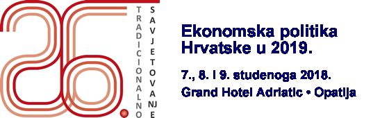 Ekonomska politika hrvatske u 2019